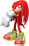 3D Knuckles SA2B by adnansonic