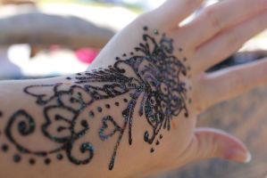 Henna flowers 2 by Redgamer112795