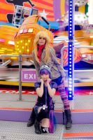 Panty and Stocking in Amusement Park[Freestyle] by Coockii