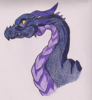 Night Dragon by Turtle-Wolf
