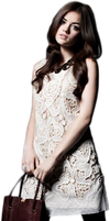Lucy Hale PNG HQ by LulithaBrito