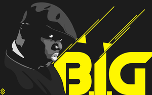Biggie Smalls Vector by sha-roo