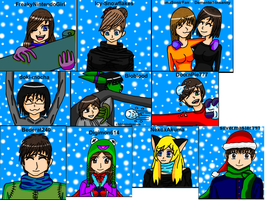 unfinish christmas pic by MegnRox15