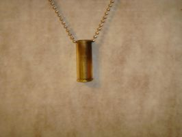 .45 Colt Necklace by NevilSnake