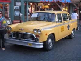 Taxi at Universal Studio Hollywood by granturismomh