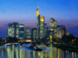 City at Night by LukasGer