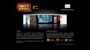 fortywinks.pl IE6 version by forty-winks