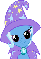 Trixie Smiling by Derpotronic