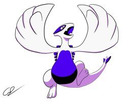 Lugia - Pokemon Silver by GdGreat