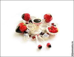 Fondue with red berries 1 by allim-lip