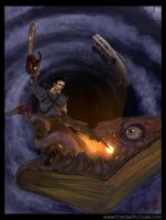 Ash VS The Book of the Dead by HorrorClub