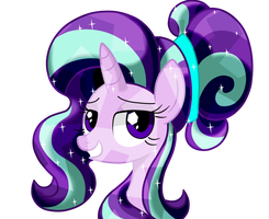 Crystalized Starlight Glimmer by LOVEHTF421