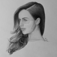Emilia Clarke by FromPencil2Paper