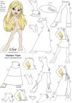 Cloe paper doll by Sheeeva