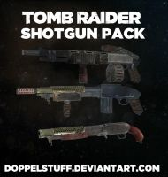 TOMB RAIDER Shotgun pack (+ weapon upgrades) by doppelstuff