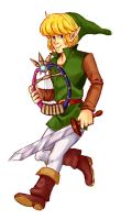 Zelda collab - Oracle of Ages by Monkanponk
