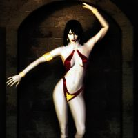 Vampirella by brokenangel