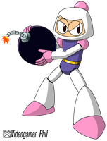 VG Robot Masters: Bomber Man by Videogamer-Phil