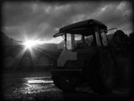 Tractor by roseenglish