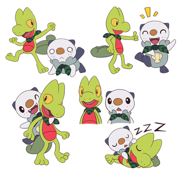 PSMD Characters by fuwoops