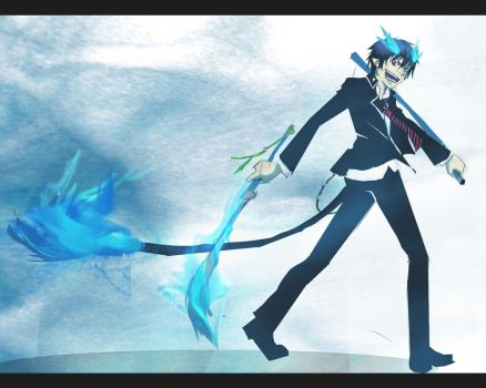 Blue exorcist by Noxiihunter