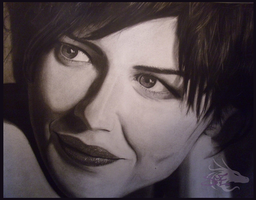 Audrey Tautou by Dancingdragonlady