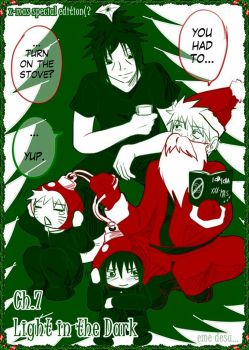 SasuNaru Light in the Dark7 COV by Midorikawa-eMe111