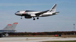 Airbus A319-132  landing by FlukieW