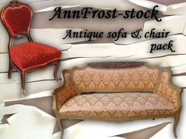 Sofa and chair pack by AnnFrost-stock