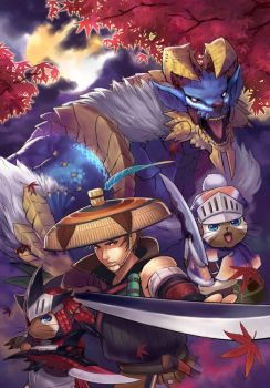 Monster Hunter Portable 3 by yukiusagi1983