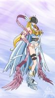 Angewomon Re-Digitized by kurotsuchi-666