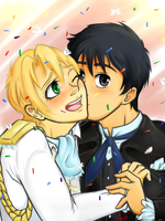 Kyo Kara Maou! A Wedding for the Ages! by landiddy
