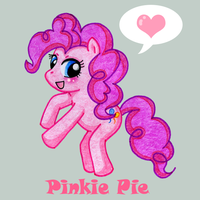 Pinkie Pie by Kiss-the-Iconist