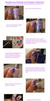 Purple on Purple on Purple Tutorial by lettym