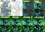 Queen Chrysalis - Step by Step by secret-pony