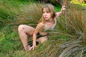 Talya in the rushes 2 by wildplaces