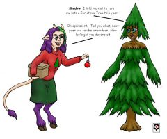 Echo the Christmas Tree by lemachi