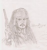 Captain Jack by ja3ni
