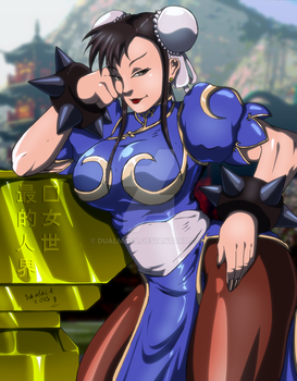 -Chun-Li- Colors by Dualmask
