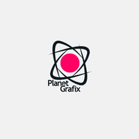 LOGOTYPE PLANET GRAFIX by ArtistUnion