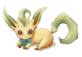 Leafeon by oi-m