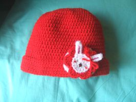 20's Bunny face hat by Feilan