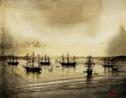 French Fleet by natalia-virlan