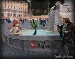 Mixing art with real life: Mermaid by arteactive