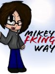 Chibi Mikey Fking Way by Furries-In-A-Blender