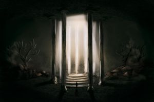 concept: hall of the mirror by CowniCorn