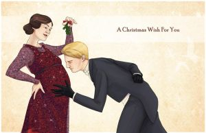 A Christmas Wish from Matthew and Mary by neomeruru