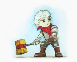 Bastion: The Kid by AIEEETHEYGOTFRANK