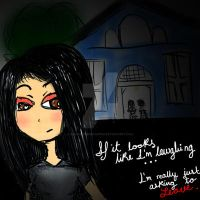 .If it looks like I'm laughing by IWantMyOwnVampire