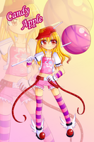Candy girl Adoptable (CLOSED) by LorSean